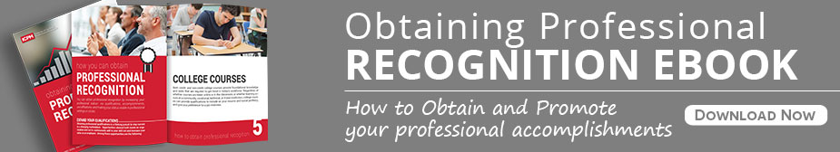 Professional Recognition Ebook